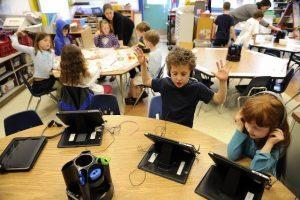 công nghệ trong lớp học